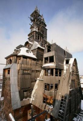 maison, futuriste, habitation, insolite, étrange, constructions, appartement, énorme, record,