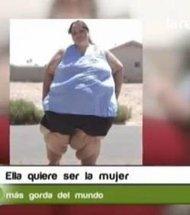 Susanne Eman, pèse 330 kg, elle veut atteindre, 750 kg, insolite, obésité, objectif, une dizaine d'années, cacher ses rondeurs, assumer,