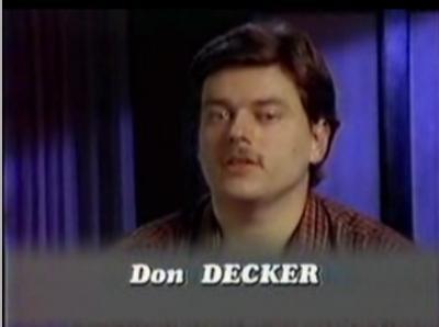 Don Decker, étrange, paranormal, phénomème, témoins oculaires, prison, décès, funérailles, grand-père, viol, eau, sortir des murs,