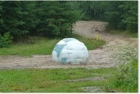 mystère, igloo de glace, République Tchèque, étrange, paranormal, planète bleue, curiosités, géante boule, énigme, ovni,