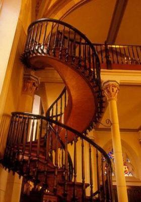 escalier mystérieux, Chapelle Loretto, étrange, paranormal, Santa Fé, 130 ans, légende, miracle, 19e siècle, neuvène, saint joseph, prière,