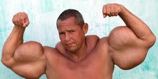 Arlindo de Souza, plus gros biceps du monde, insolite, La Montagne, Brésilien, gros bras, injections, huile minérale, alcools, gonflés artificiellement, dangereux, abcès, tissus musculaires, mort, Paulinho,