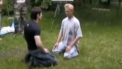 professeur, art martiaux, contre son élève, insolite, Russie, contrer les coups, technique sans contact, esquiver les coups,