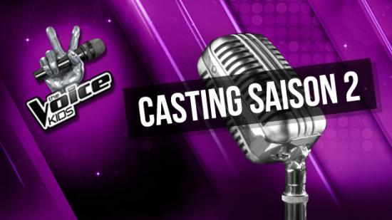Casting the voice kids saison 2