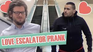 Coup de foudre escalator