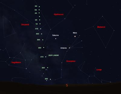 Deux cometes visibles a l il nu vont froler la terre