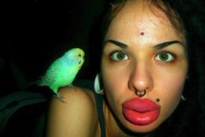 Kristina Rei, les plus grosses lèvres, insolite, jeune Russe, chirurgie esthétique, vidéo,