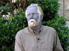 L homme bleu paul karason