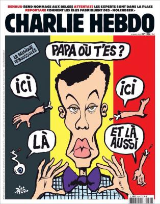La caricature scandale de charlie hebdo