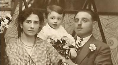 La famille guerstein deportee en janvier 1944