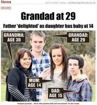 le plus jeune, grand-père, du monde, 29 ans, insolite, record, papa précoce, Shem Davies, Ava, jeunes parents, couveuse,