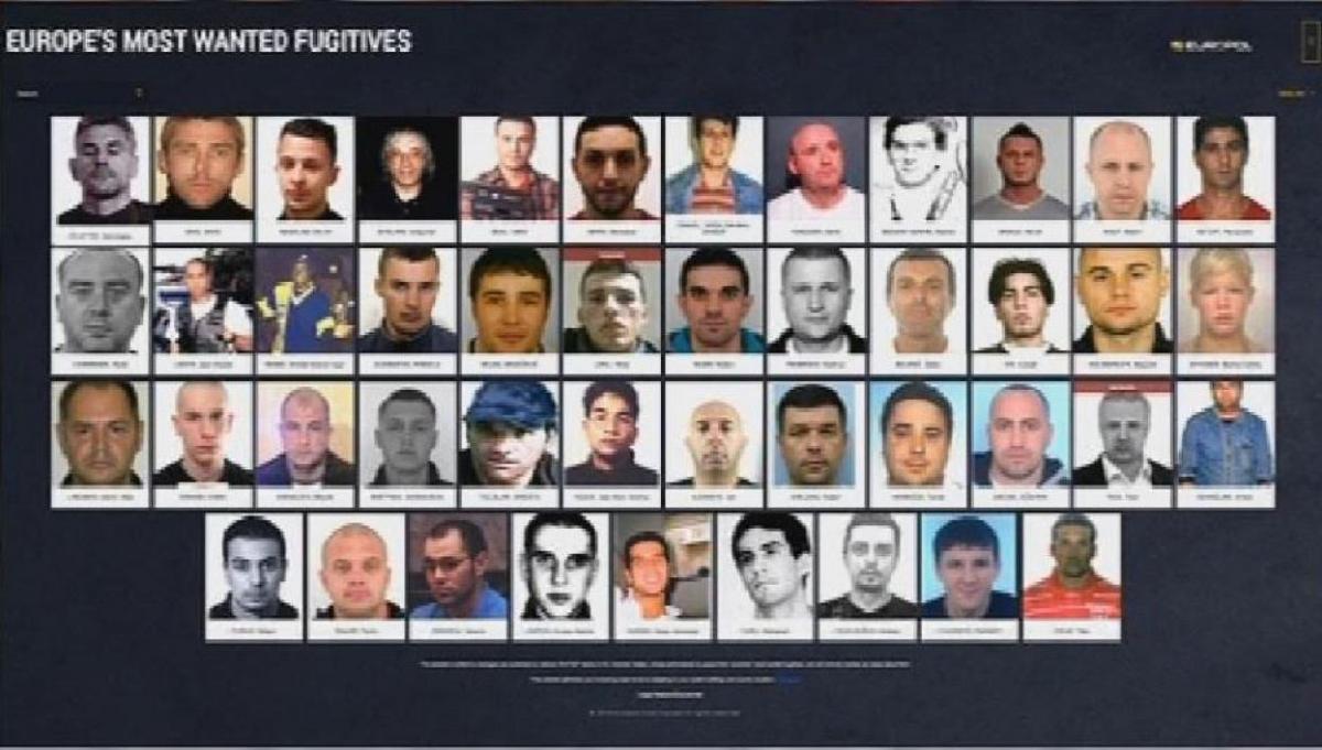 Liste des fugitifs les plus recherches