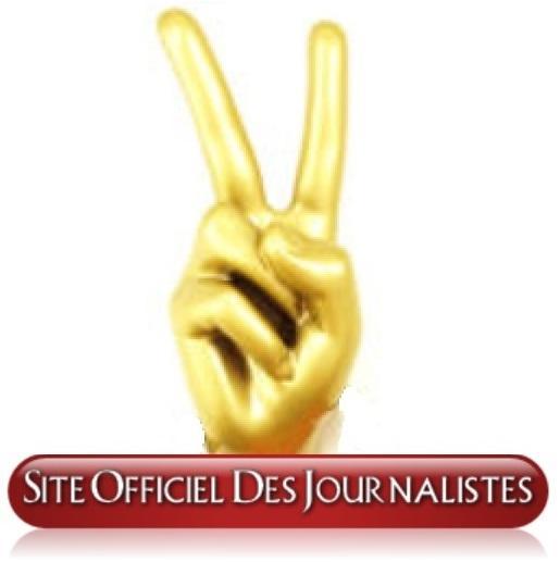 Logo site officiel des journalistes bas