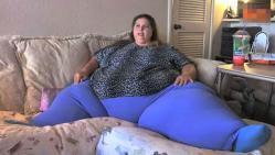 femme, plus grosse du monde, insolite, Pauline Potter, américaine, 47 ans, Sacramento, Californie, 292 kg, Guinness World Records, plats à emporter, aliments frits, mauvaise alimentation,