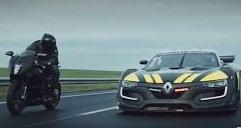 Renault sport r s 01 police 1