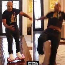 Video la grosse chute de mike tyson en hoverboard